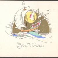 """[006] """"Bon Voyage"""" Card"""