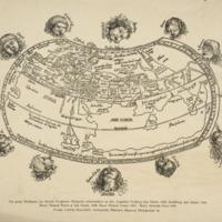 Die grosse Weltkarte aus Reisch, Gregorius : Margarita…