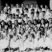 Lelu Elementary School 6th grade graduating class,…