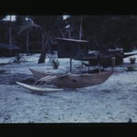 """Mason's note reads """"Kili paddle canoe of bingbing wood…"""