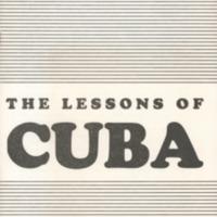 Lessons of Cuba.