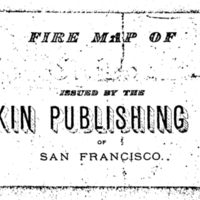 Dakin Publishing Company and its Fire Insurance Maps