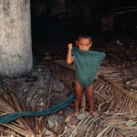 Young Boy with Unwrapped Loincloth