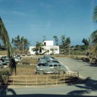 View from T/T Bldg., parking lot. Guam. 15 Mar. 1950