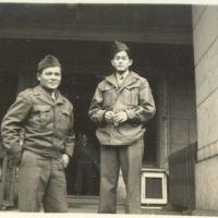 Kaizawa 3-026: Stanley Kaizawa and another soldier…
