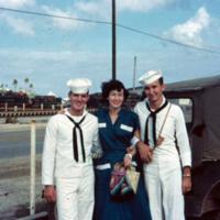 Jewell, Margo, Crysel. Guam. 9 Dec. 1949