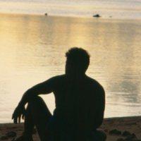 Mau Piailug on Beach - 03