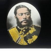 King Kalakaua, colorized
