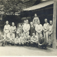 A group photo of MP personnel and hotel staff,…
