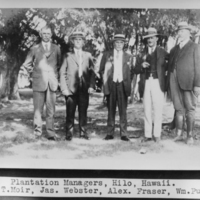 Plantation Managers -John T.Moir, Jas. Webster, Alex.…