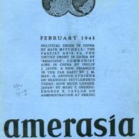 Amerasia (11 v., 1937-1947)
