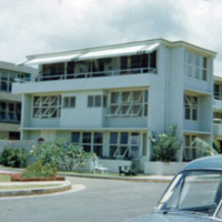 Side view, 380 Kaiolu St., Waikiki. June 1951