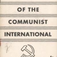 15 years of the Communist International.