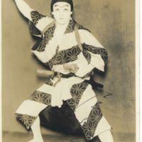 Kaizawa 1-020: Kabuki actor - Onoe, Shoroku II, 尾上, 松緑…