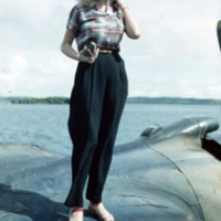 Carole Vogt. Lagoon at Yap. 13 Feb. 1950