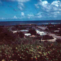 Agana, Guam from Bishopric. Guam, M.I. 20 Oct. 1949