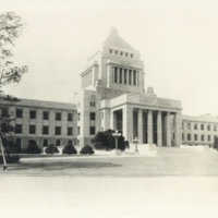 National Diet Building, Pre-WWII, Tokyo Japan