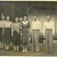 A group photo of Helen, Mrs. Shimada's niece, Maj.…