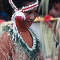 Fabiana (Mau Piailug's daughter) at eight grade…