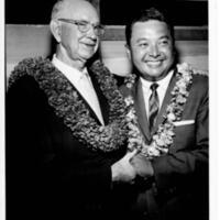 Senator Oren Long and Representative Daniel Inouye