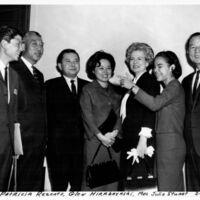 Glen Hirabayashi, Senator Hiram Fong, Senator Daniel…