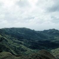 Scene from top of Lamlam. Guam. Jan. 1950