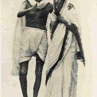 Gandhi & Rajkumari Amrit Kaur