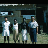 Banga. L.-R. Fijian, Guadalcanal, Raosiara, Tongan
