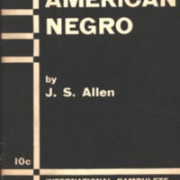 American negro