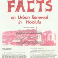 Facts on urban renewal in Honolulu
