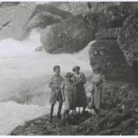 Matron Nan & Mollie - Rauma Falls. N.G.
