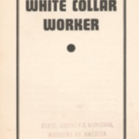 C-I-O and the white collar worker