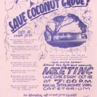 Save Coconut Grove!