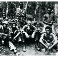 Part of unit of 23 Malaita men attached to 1st Fiji…
