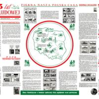 25 lat polski ludowej - Informacyjna gazetka 1969