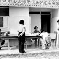 Voting on the Micronesian constitution, July 12, 1978,…