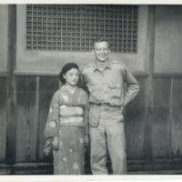Kaizawa 2-132: Alexander Calhoun standing with a female…