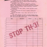 Stop TH-3! Petition to the Governor and State…