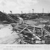Collapsed structure, elementary school. (N- 1886b.10).