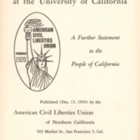 Crisis at the University of California: a further…