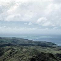 View from Mount Lamlam. Looking toward Umatac Bay.…