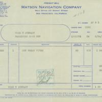 [135] Freight Bill
