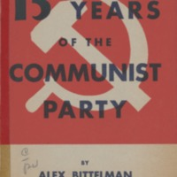 15 Years of the Communist Party