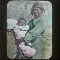 Mexican mother and child: 墨国人母と子
