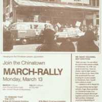 Join the Chinatown March-rally