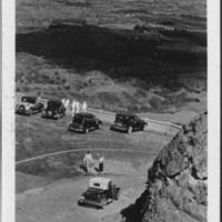 Nuuanu Pali Lookout with Cars