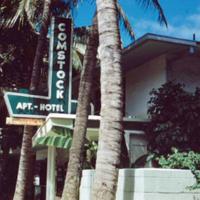 Waikiki, Royal Hawaiian Ave. June 1951