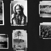 Page 30: Hula Gal, Harbor, Pineapples and Palms