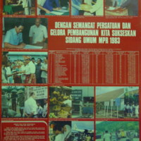 Sukseskan Sidang Umum MPR 1983