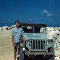 Crawford. Breakwater. Guam 1 Jan. 1950
